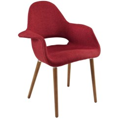 Red Chairs For Sale Repair Plastic Lawn Modway Dining On Eei 555 Tau Aegis Mid Century Modern Armchair Chair