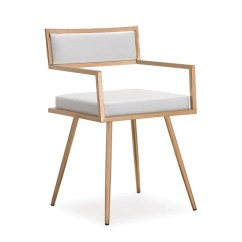 Gold Dining Chairs Hanging Egg Chair In Bedroom Tov Furniture Marquee White Croc Rose Arm Set Of 2
