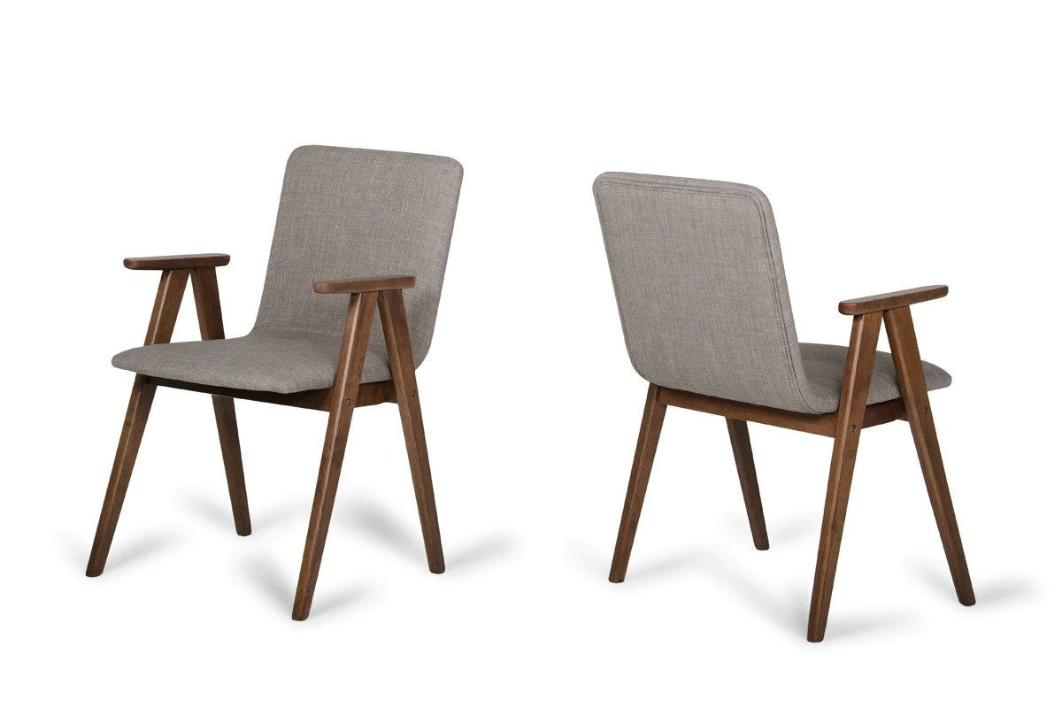 Walnut Dining Chair Vig Furniture Vgmami 562a Ses Modrest Maddox Modern Sesame Walnut Dining Chair Set Of 2 Sale At Contemporary Furniture Warehouse Today Only