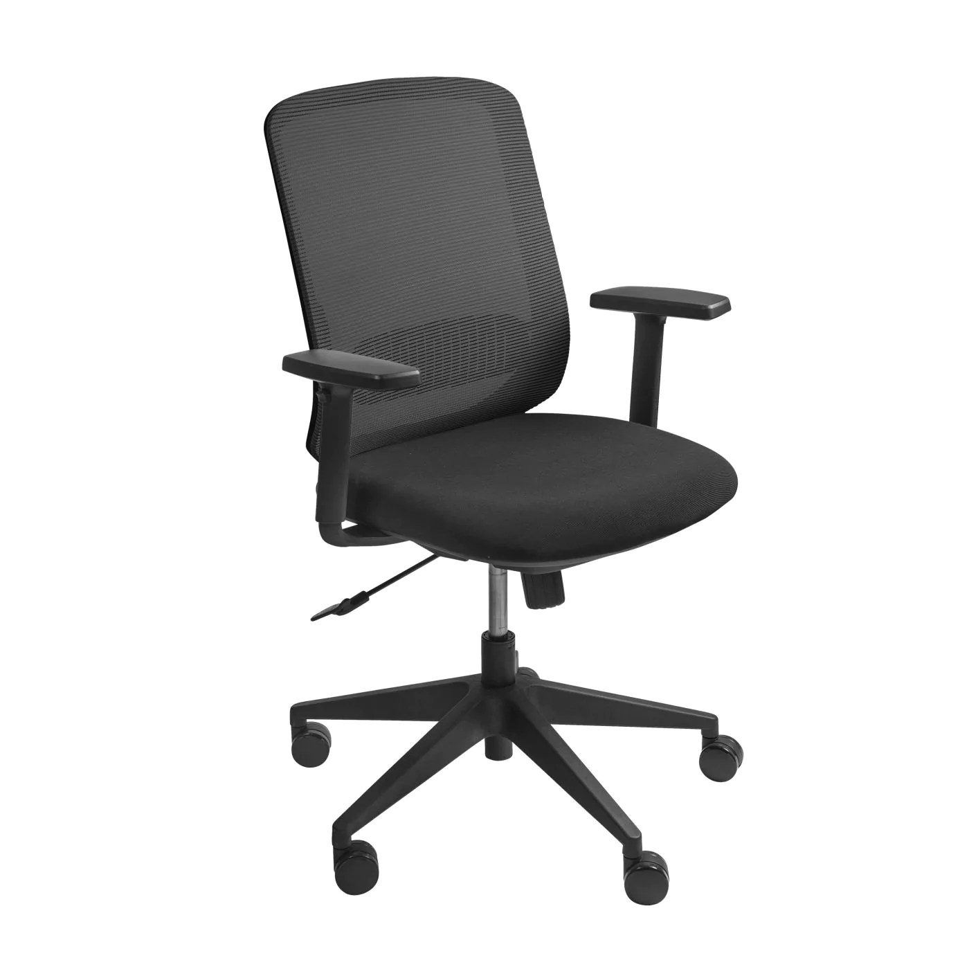 office chair warmer workouts for abs euro style 00703blk isaac low back in