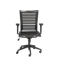 Bungie Office Chair Quantum Power Chairs Euro Style 02576blk Pro Flat High Back