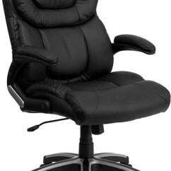 Swivel Chair Office Warehouse Football Bean Bag Flash Furniture High Back Black Leather Executive