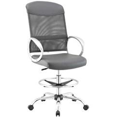 Modern Drafting Chair Cheap Study Desk And Modway Emblem Mesh Vinyl At
