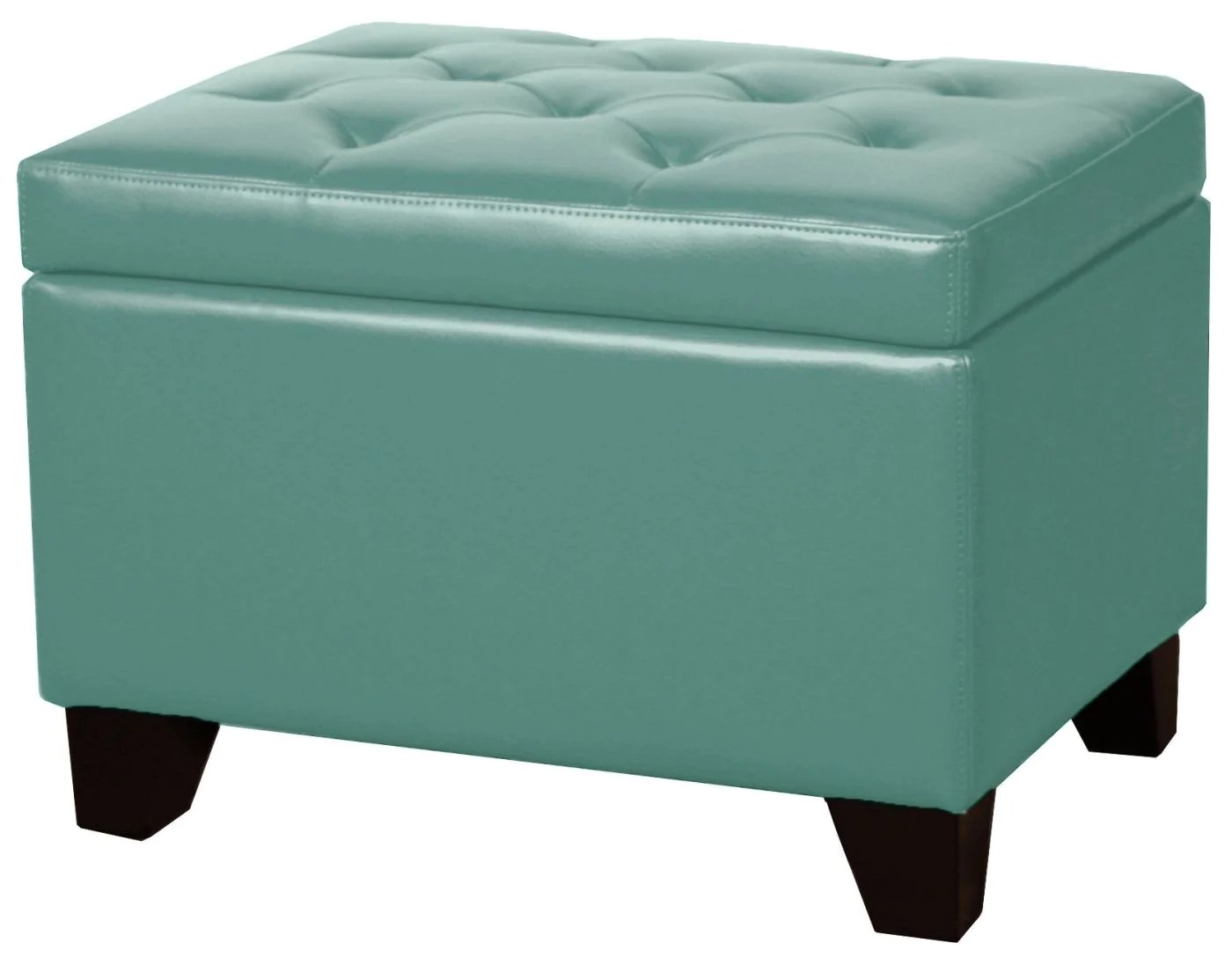 turquoise leather chair and ottoman gaming reviews uk new pacific direct julian rectangular bonded