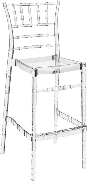 clear chiavari chairs caravan canopy folding amazing deal on compamia isp083 tcl polycarbonate barstool transparent set of 2 outdoor bar chair