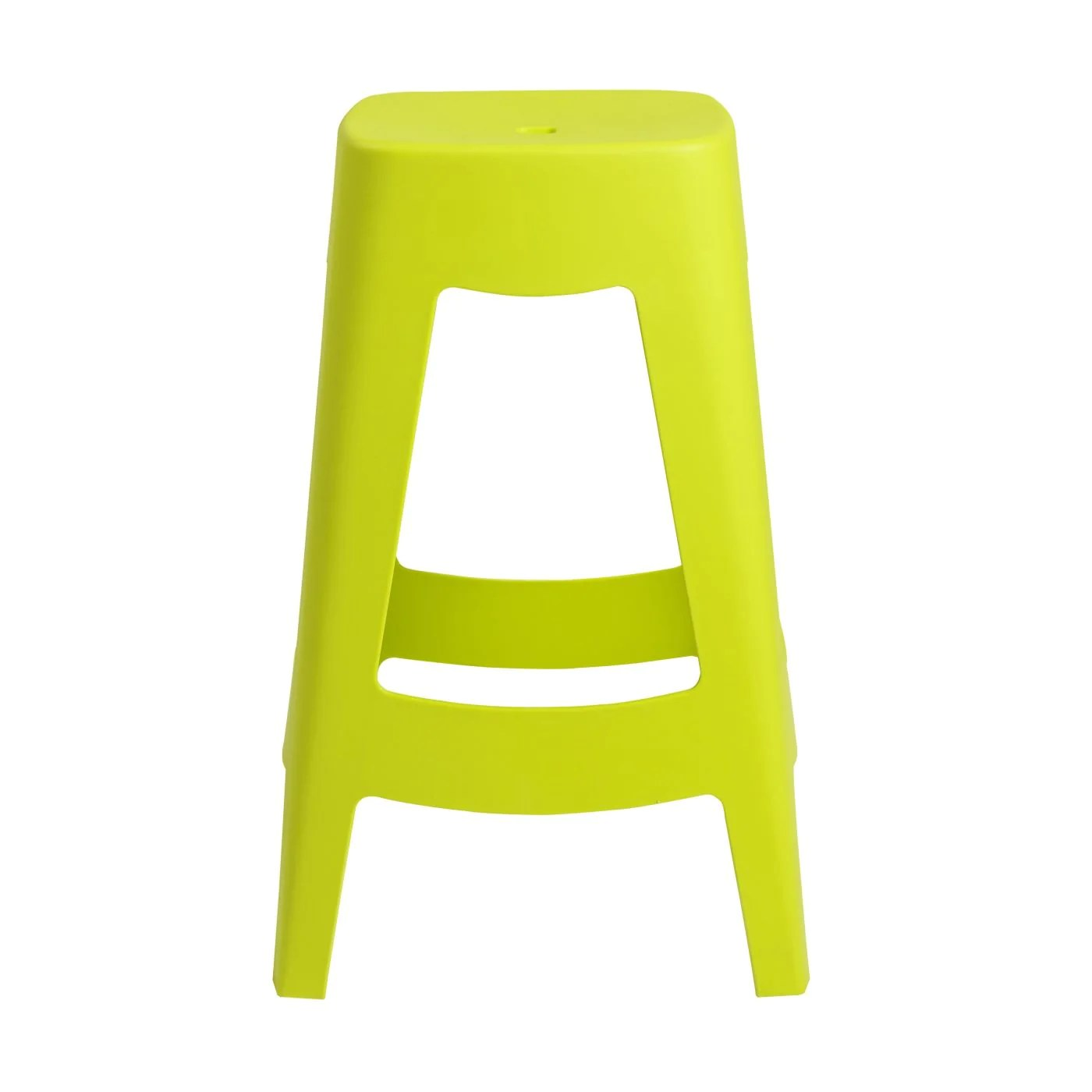 Lime Green Chairs Coda Stackable Counter Stool In Lime Green Set Of 4