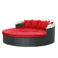 Modway Quest Canopy Outdoor Patio Daybed at Contemporary ...