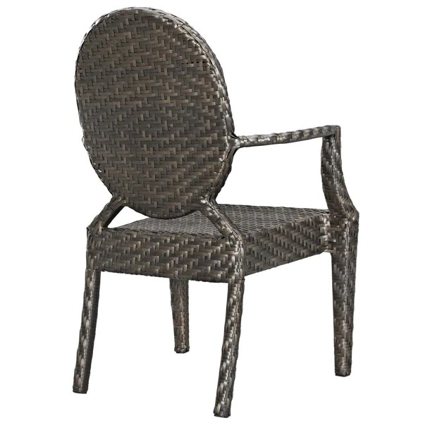 outdoor dining chairs sale adirondack chair templates modway on eei 2683 brn casper modern armchair dual tone synthetic rattan weave