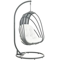 Hanging Chair Stand White High Back Office Modway Outdoor Lounge Chairs On Sale Eei 2275 Per Set Whisk Patio Swing With