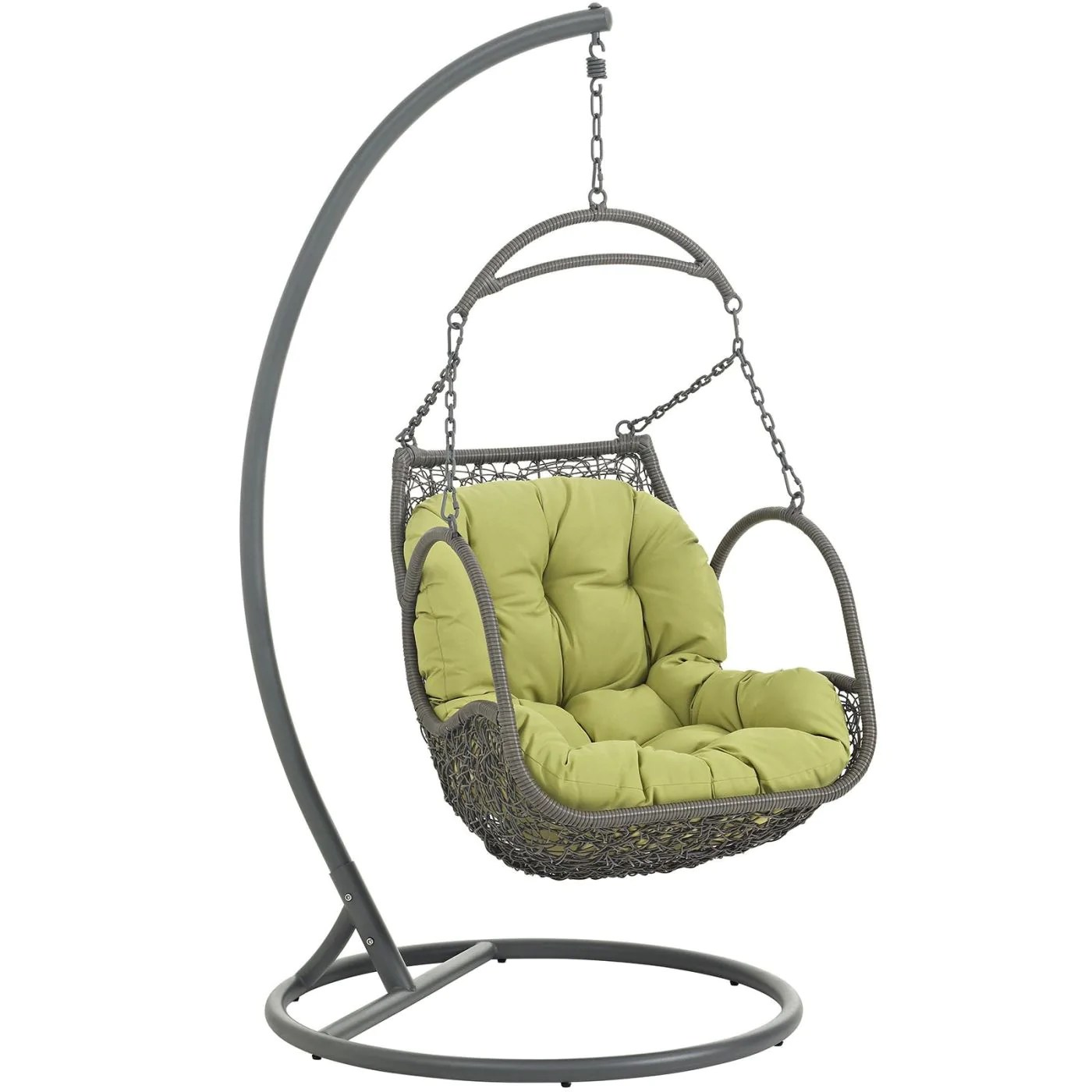 Hanging Patio Chair Buy Modway Eei 2279 Per Set Arbor Outdoor Hanging Patio Wood Swing Chair At Contemporary Furniture Warehouse