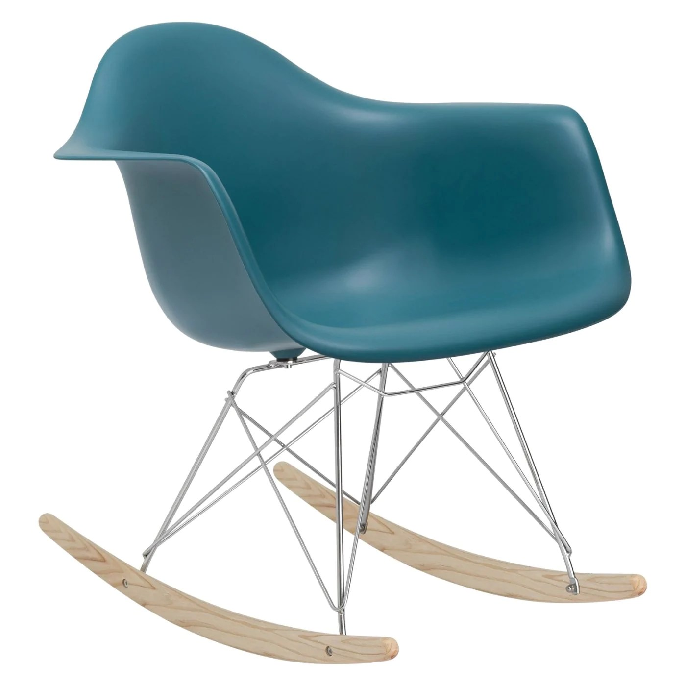 teal lounge chair hanging stand diy edgemod rocker in at contemporary