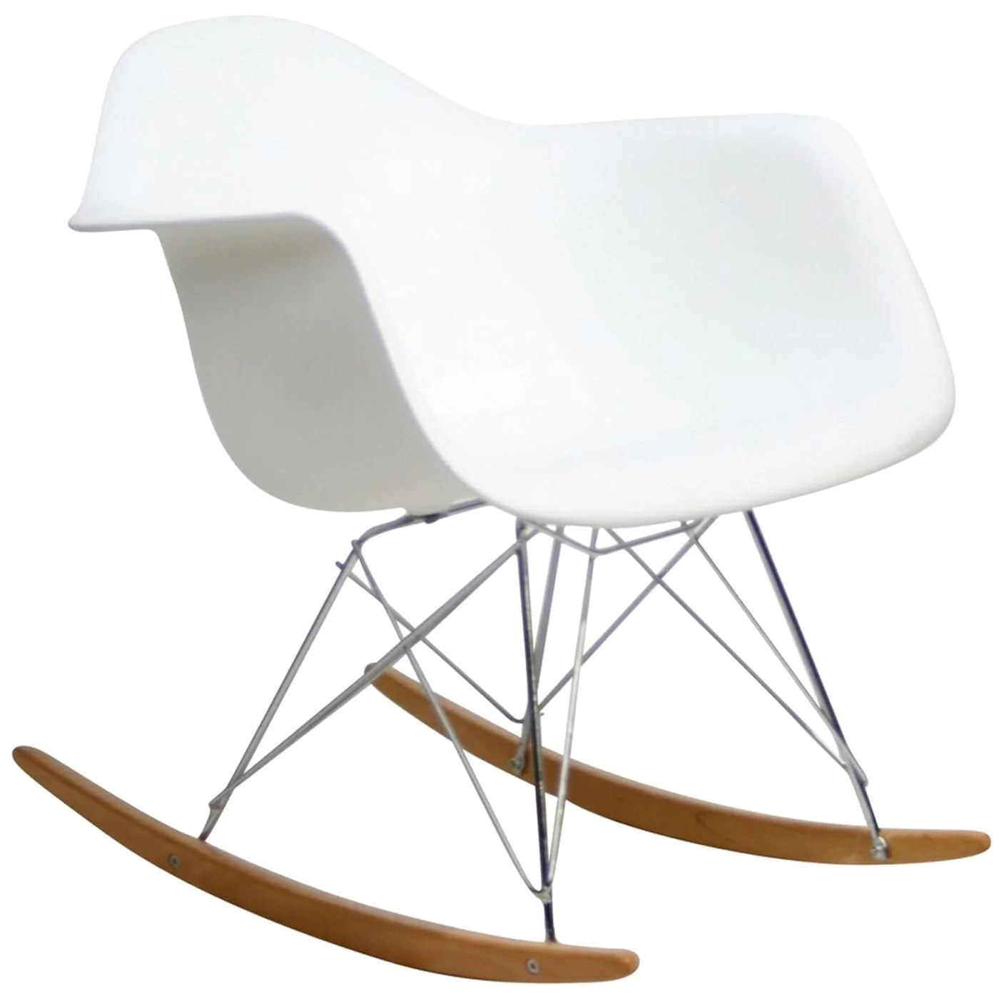 Plastic Lounge Chair Modway Rocking Chairs On Sale Eei 147 Whi Rocker Pp Plastic Lounge Chair Only Only 129 00 At Contemporary Furniture Warehouse