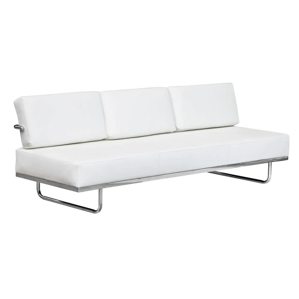 lc5 sofa price red suede unbeatable on fine mod imports flat bed white at