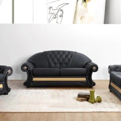 Gold Leather Sofa Set Transitional Sofas Spectacular Savings On Vig Furniture Vgyit36 Blk Cleopatra Traditional Black And At Contemporary Warehouse Today Only