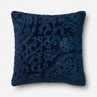 Loloi Rugs Loloi Indigo Decorative Throw Pillow (GPI02) at