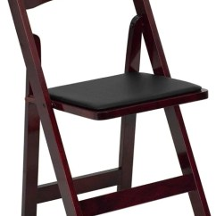 Renting Folding Chairs Dining Room Chair Pad Covers Mahogany Wood With Black Seat Rental Pro Audio