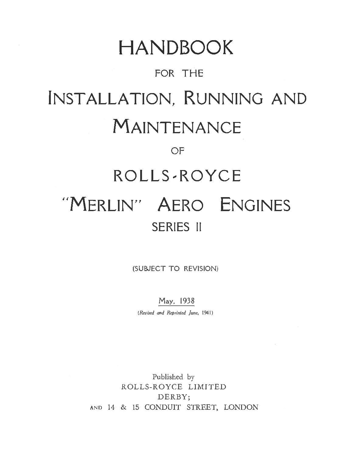hight resolution of load image into gallery viewer rolls royce merlin series ii manual handbook for