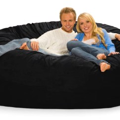 Where To Buy Bean Bag Chairs Hire Chair Covers For Weddings Edinburgh 7 Ft Foot Wide Round Beanbag Gigantic Bags