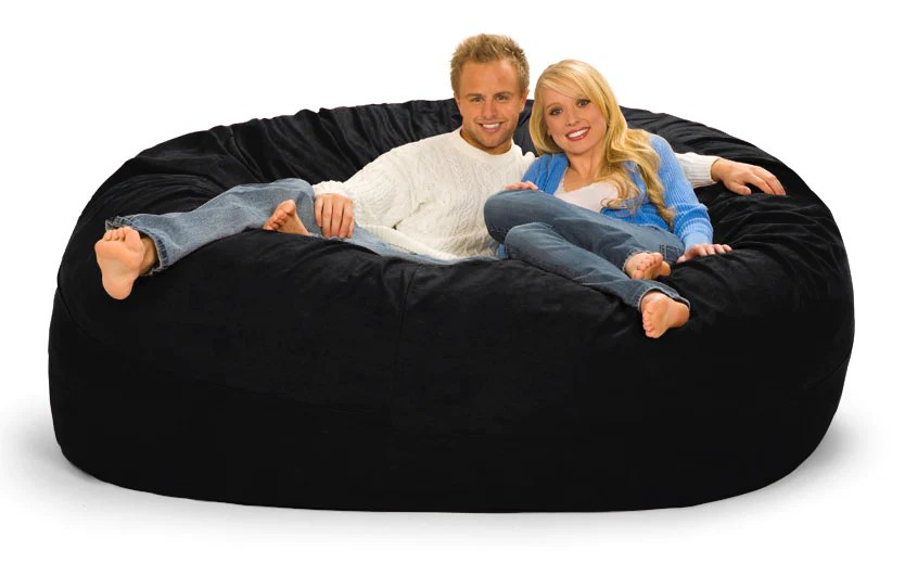 what size bean bag chair do i need gravity free 7 ft foot wide round beanbag gigantic bags
