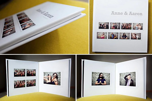 Photo Booth Album Template for Photographers  Design Aglow