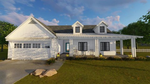 Modern Farmhouse House Plans