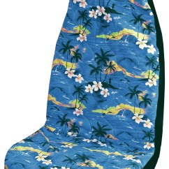 Hawaiian Chair Covers Best Chairs Inc Recliner Blue 100 Sunsets Car Seat Cover Set Of 2