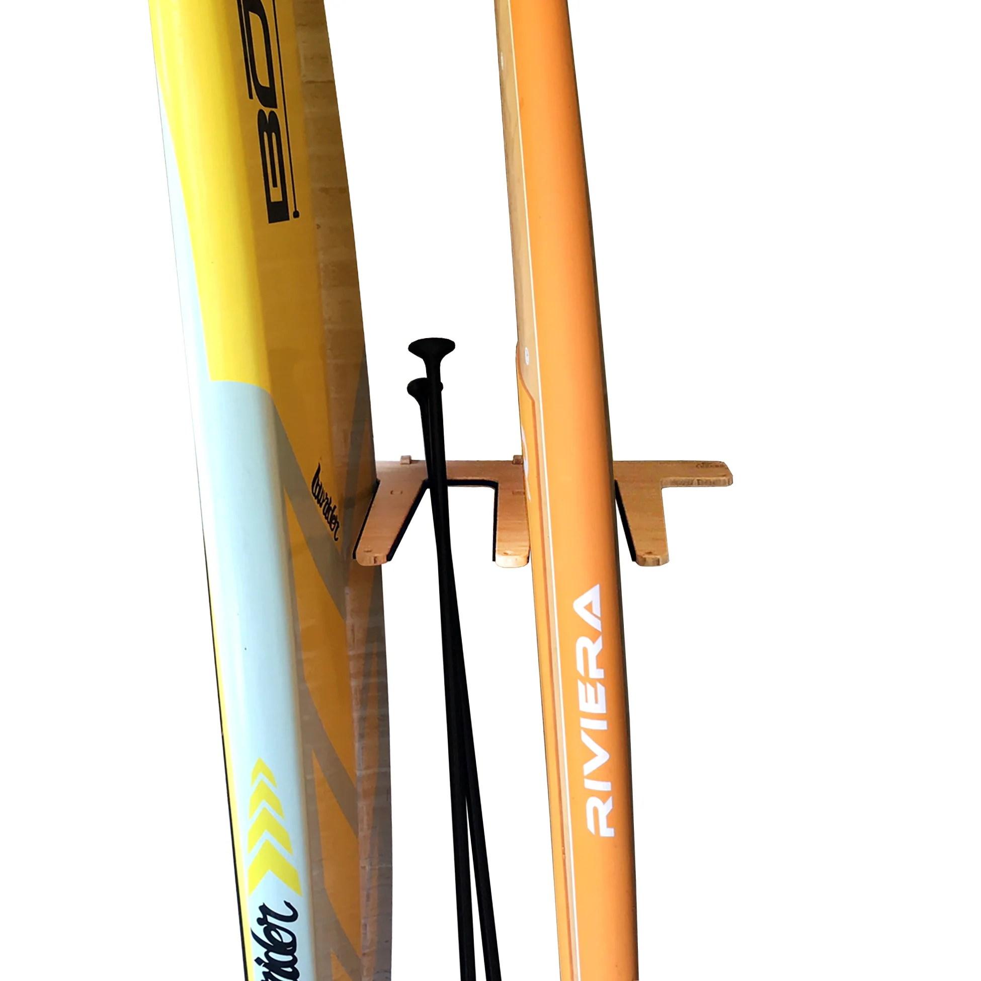 paddleboard rack surfboard rack vertical wall mounted indoor sup storage