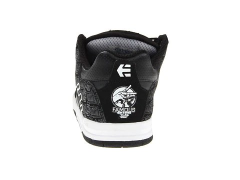 etnies fsas x twitch cartel black white famous rock shop