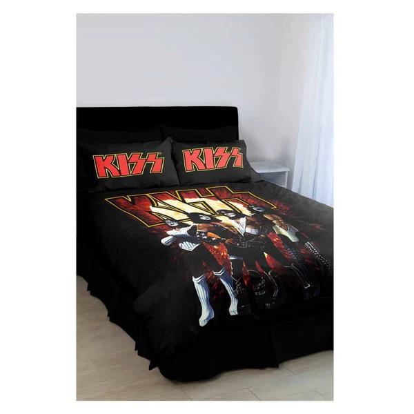 KISS Quilt Cover Set  Famous Rock Shop