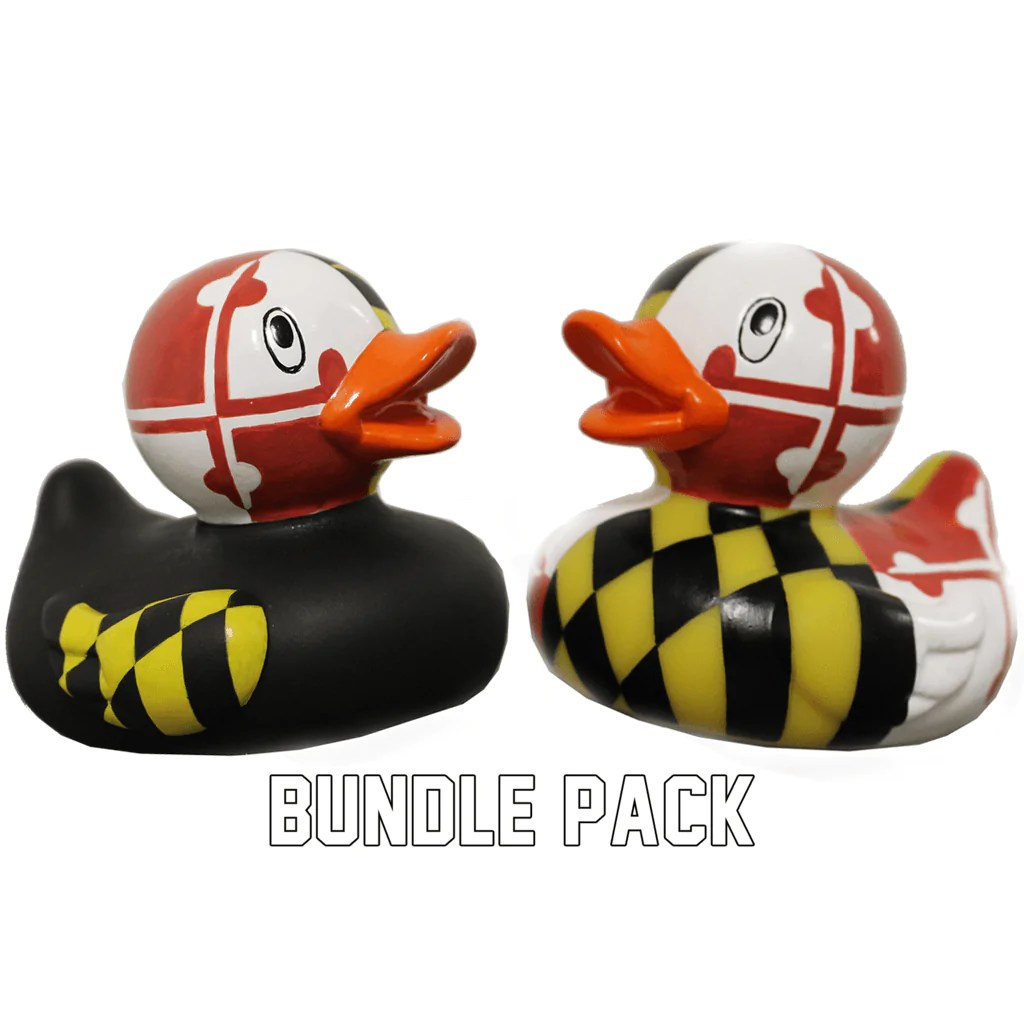 maryland rubber duckie bundle