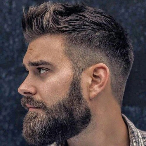 cool beard & hairstyle combos