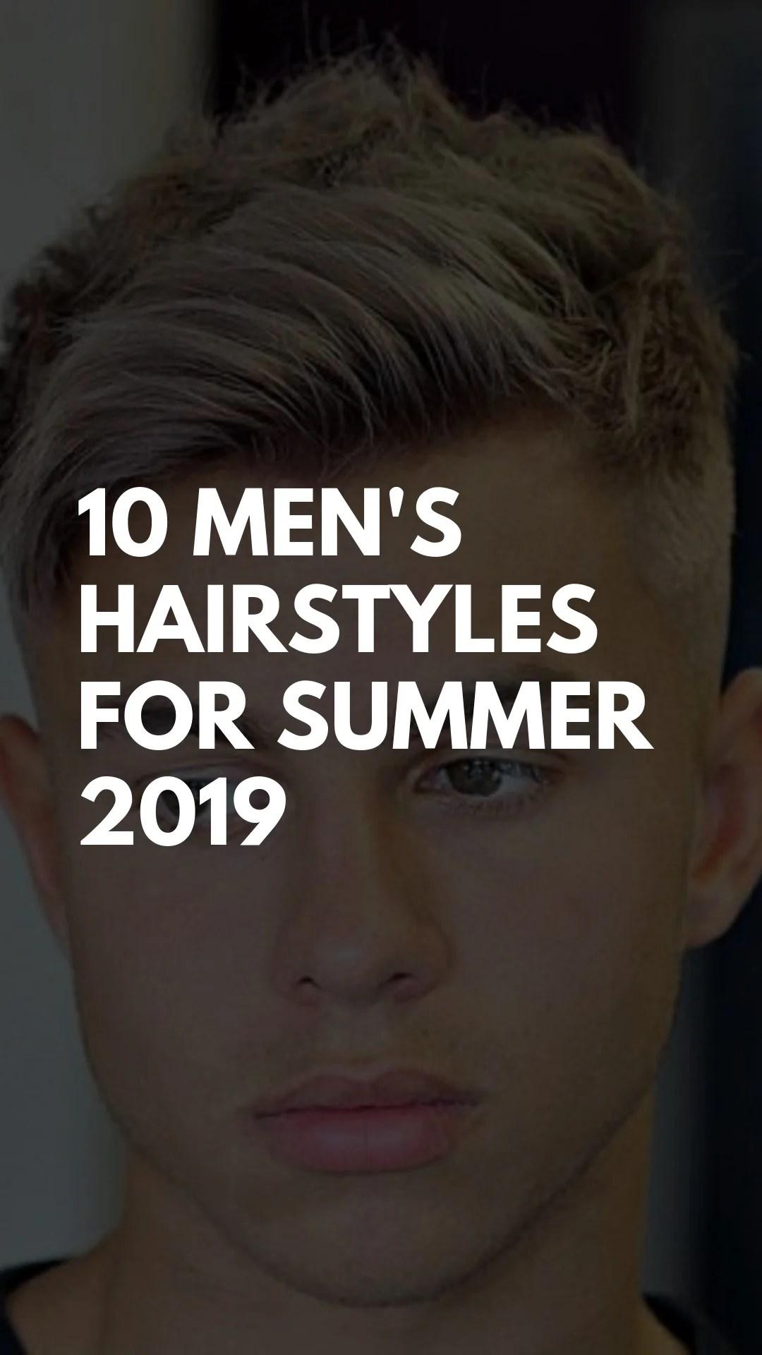 men's hairstyles summer