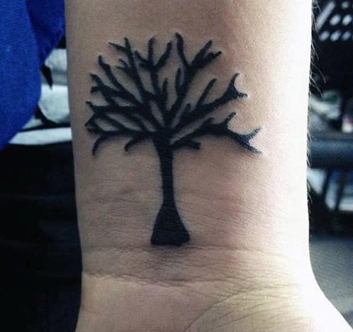 Simple Mens Wrist Tattoos