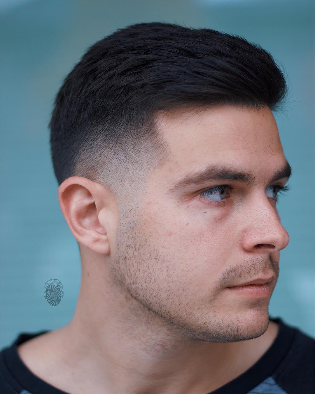 short hairstyles men 2019