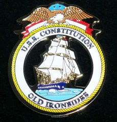 USS Constitution Seal Medallion