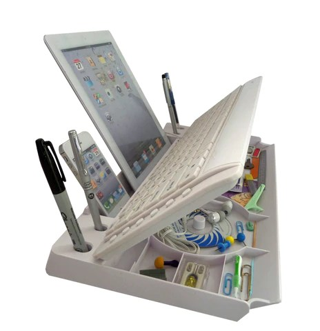 "mk1800  - Another award winning 6 in ONE  Keyboard w/Organizer  with ""the restt"" tablet stand, this is the basic model"