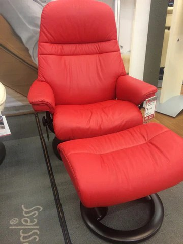 stressless chair sale glass and wood dining table chairs the popular sunrise on now recliners la