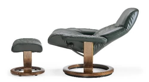 easy chairs with footrests century furniture which is better a built in footrest or separate ottoman