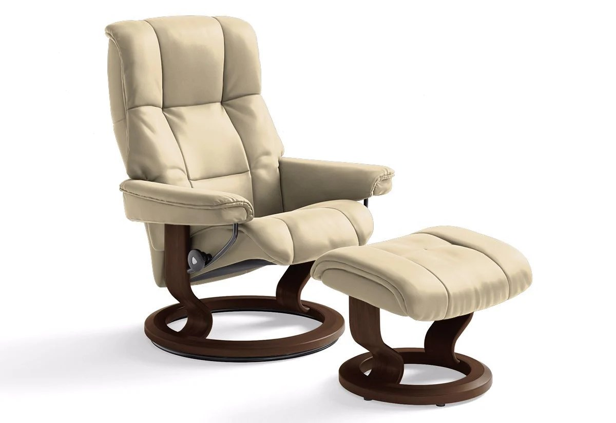 Small Chair With Ottoman Mayfair Small Classic Recliner And Ottoman Stressless By