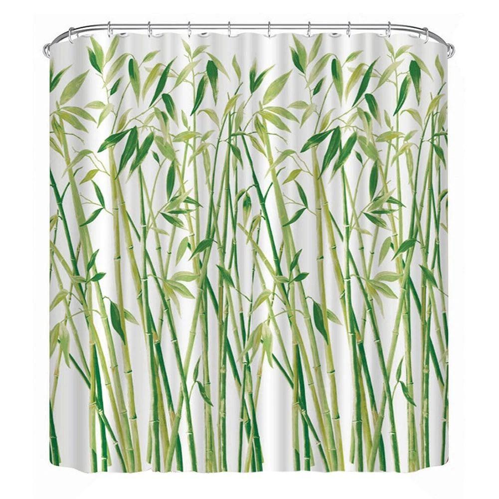 secrete garden bamboo shower curtain