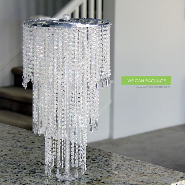 DIY Chandelier Wedding Centerpiece Ideas  Do It Yourself Home Decorations