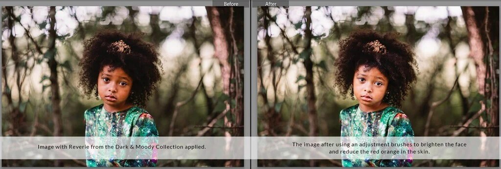 how to fade presets in lightroom mobile