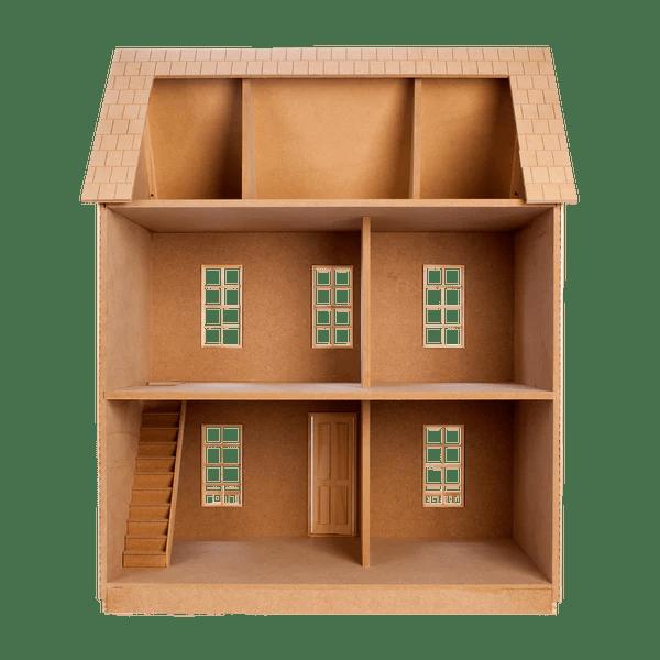 living room toy box paint color schemes quickbuild™ imagination house dollhouse kit – real good toys