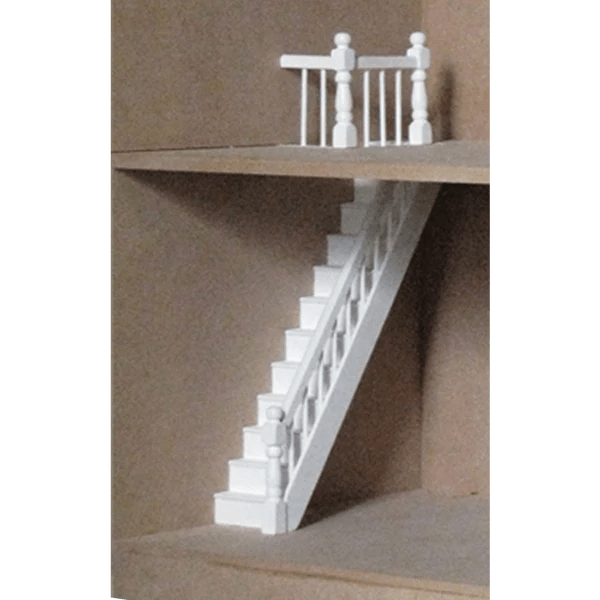 Dollhouse Banister  Landing Rail Pack  Real Good Toys
