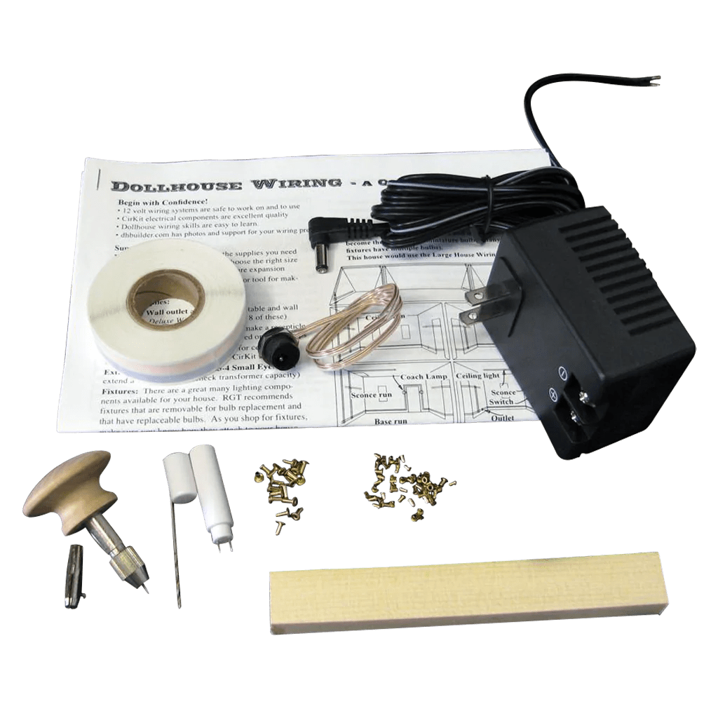 small resolution of rgt s best 1 custom dollhouse electrical kit dollhouse wiring supplies