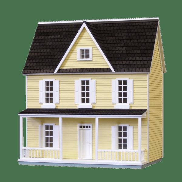 1 2 scale farmhouse dollhouse