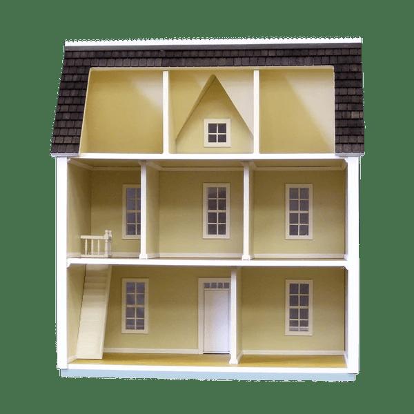 12 Inch Scale Farmhouse Dollhouse Kit  Real Good Toys