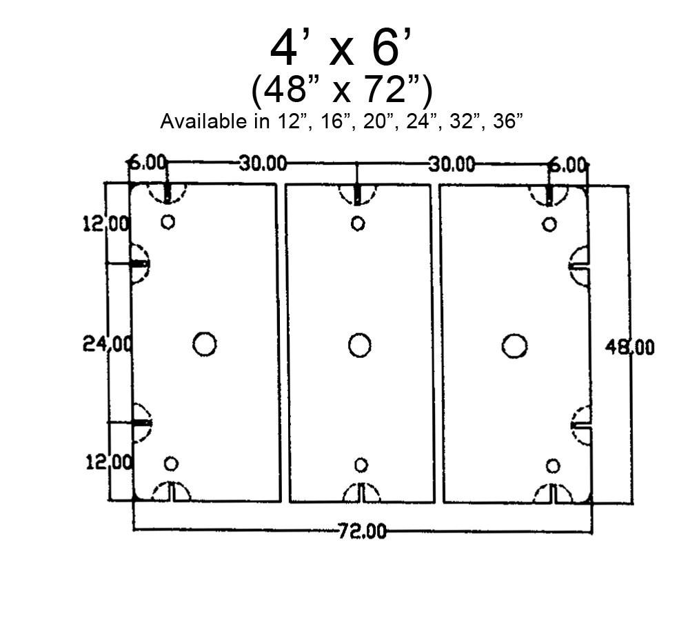 medium resolution of 4 x 6 float