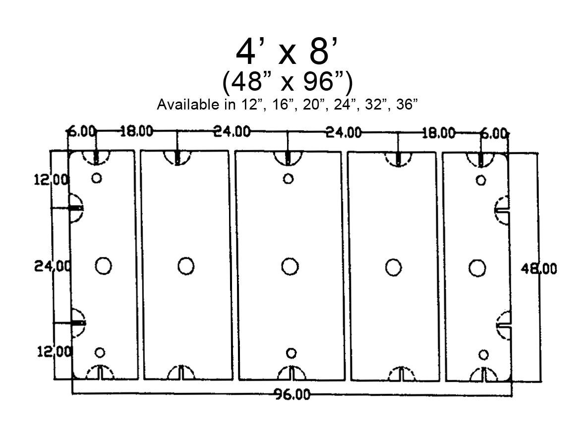 medium resolution of 4 x 8 float