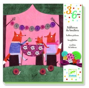 Homeschool Kindergarten Curriculum - Djeco Buttons Pictures